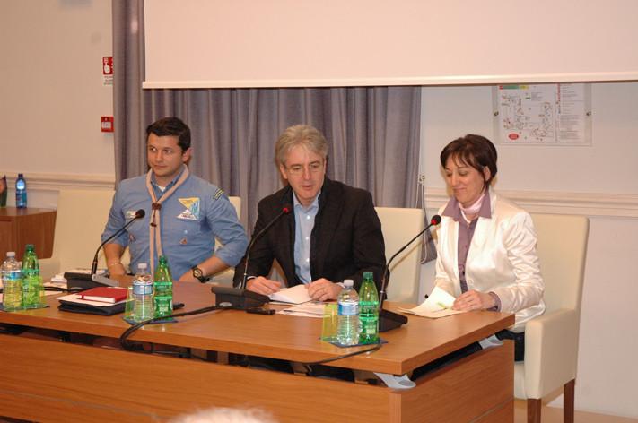 Tarcisio Antognozzi - Matteo Carlocchia AGESCI - Antonella Monteverde AC Marche