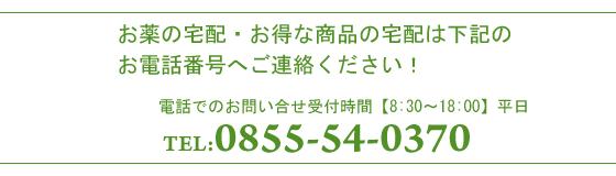 ご注文先電話番号