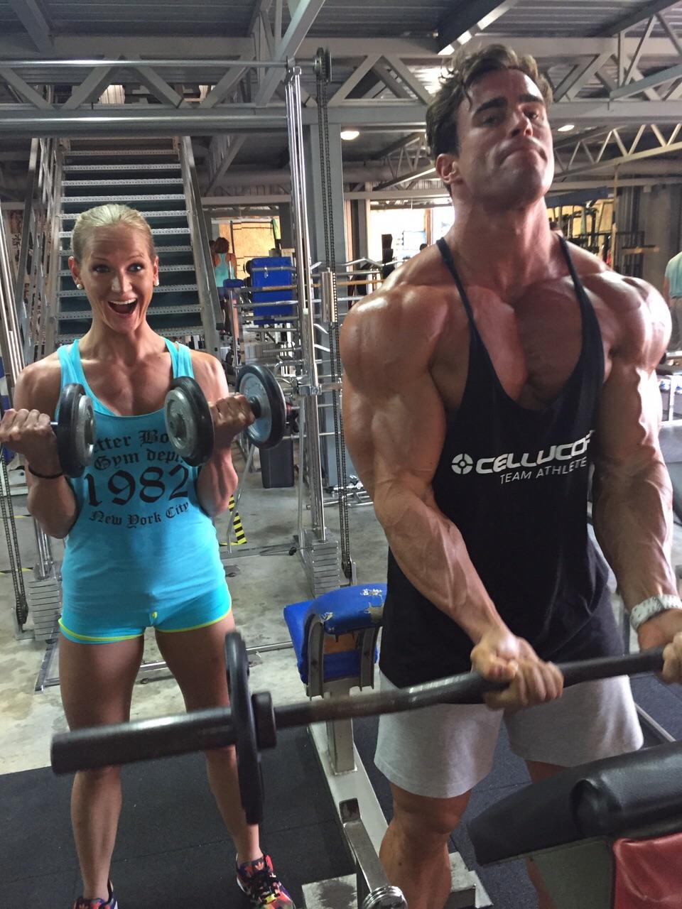 Krafttraining Erfolg Muskelaufbau Fun Spass Leidenschaft Fitness