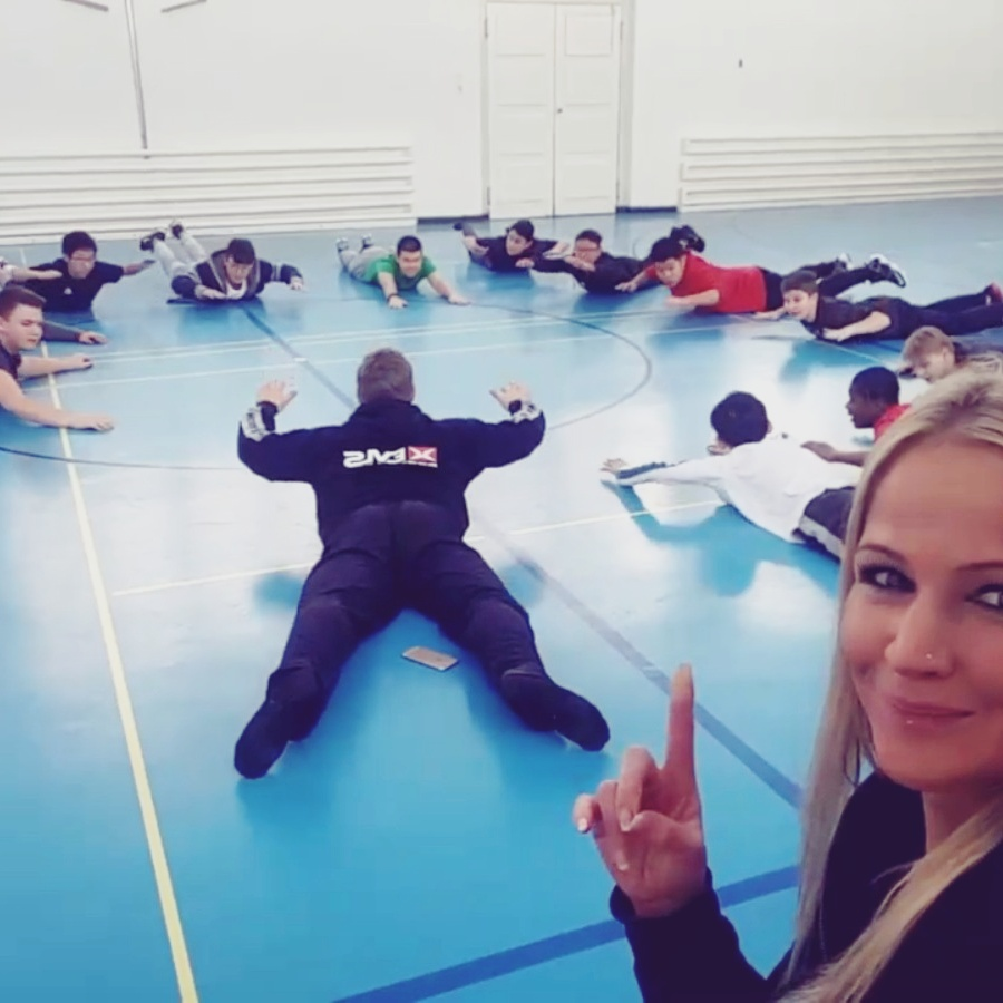 Gruppentraining Groupfitness Spass zusammen togheter Fitness Gesundheit Alltag