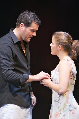 Faust I – Christoph Wieschke und Shantia Ullmann  © Christian Schneider, Landestheater Salzburg