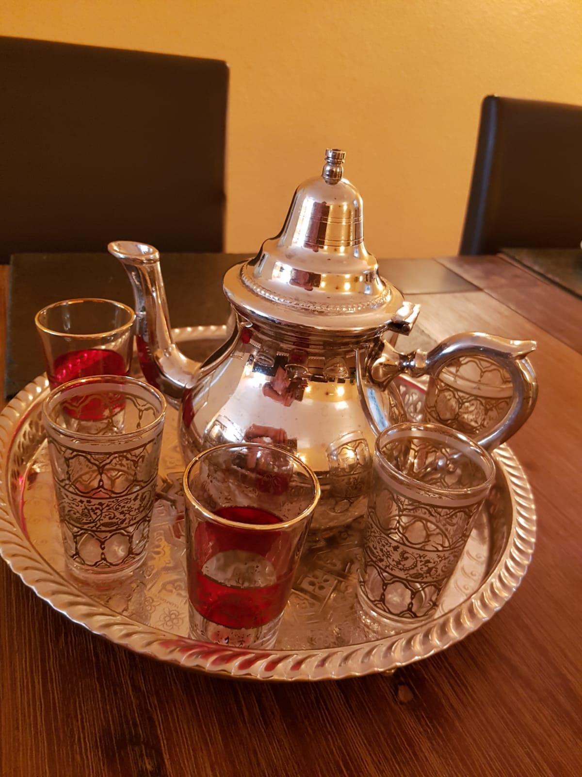 frischer marokkanischer Minztee