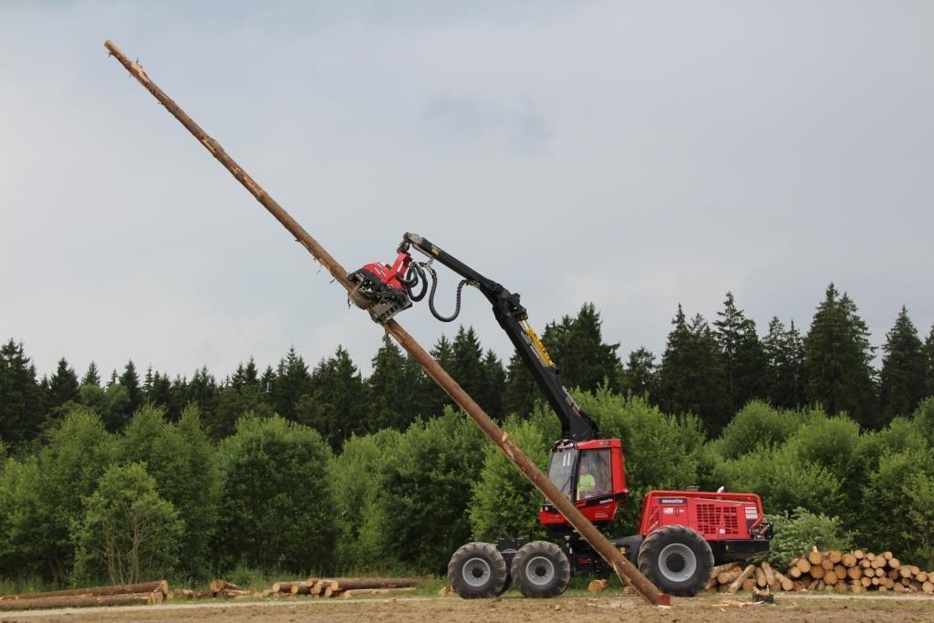 Neue Bäume aufstellen
