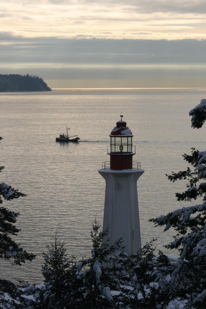 Lighthouse Park, Vancouver, Kanada