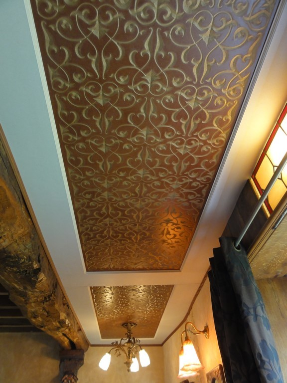 Plafond vintage