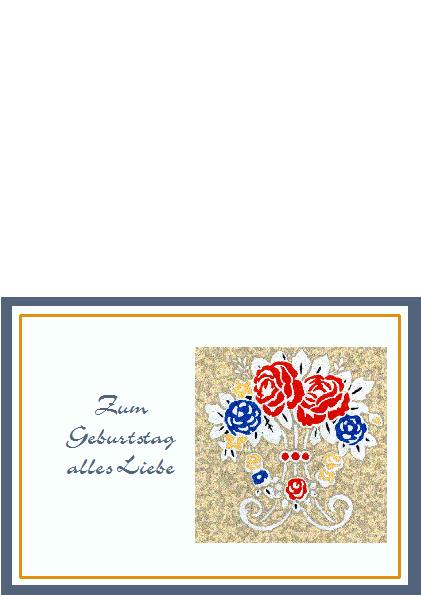 2. Geburtstagskarte