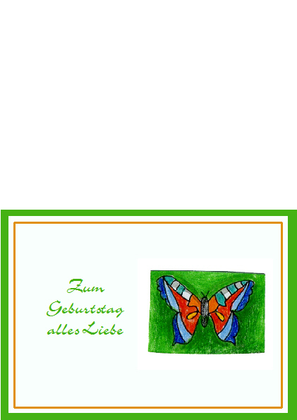 3. Geburtstagskarte
