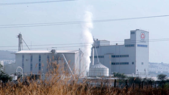 Complejo industrial en El Salto, Jalisco, México.Manuel Hernández / RT