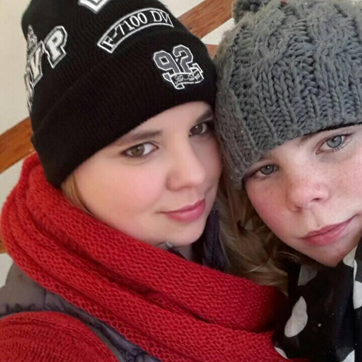 Katharina und ihre Schwester
