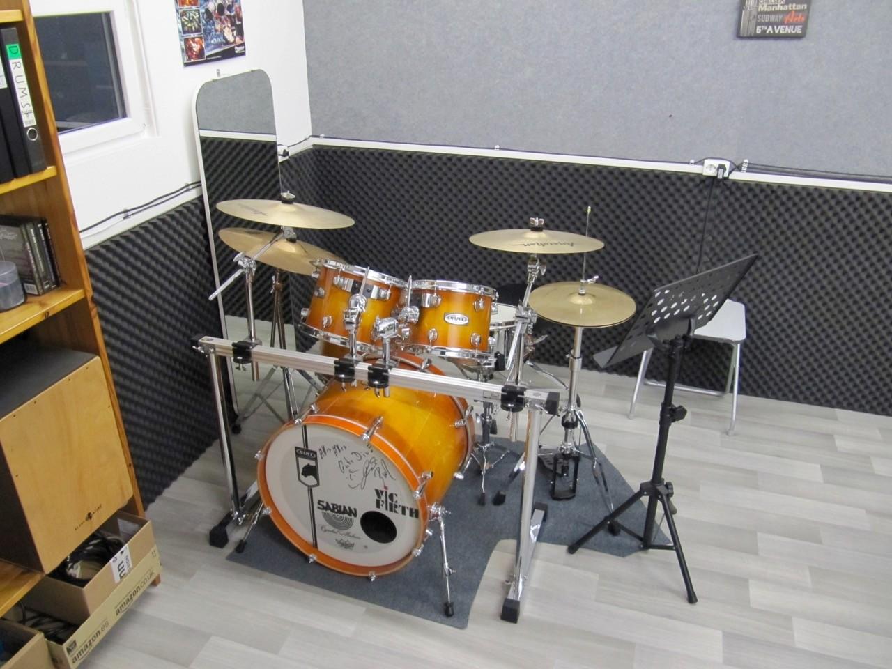 Unterrichtsraum Endingen, Mapex M-Pro Schüler-Schlagzeug