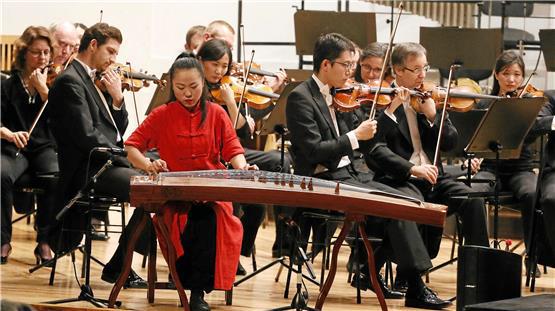 Chanyuan Zhao als Solistin mit der Neuen Philharmonie Westfalen | 2018