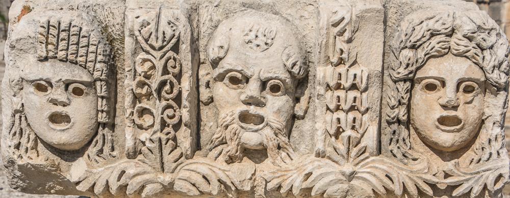 Medusen bei den Ruinen von Myra