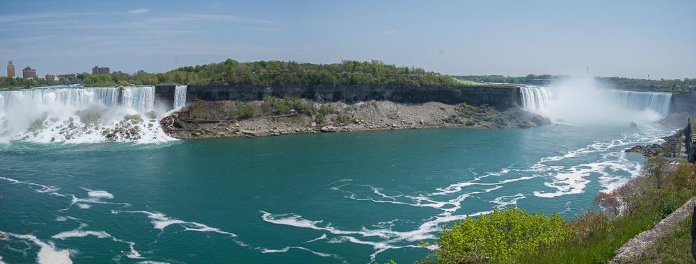 Die kanadische Sicht auf die Niagara Falls