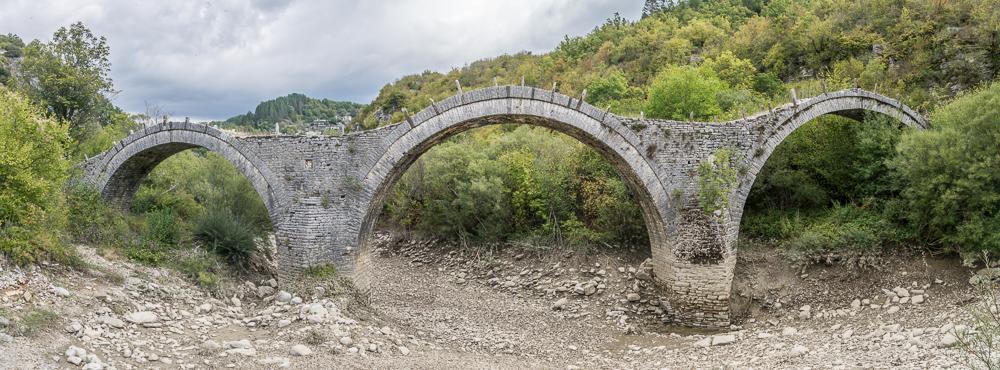 Mylos Brücke,  Pindov National Park