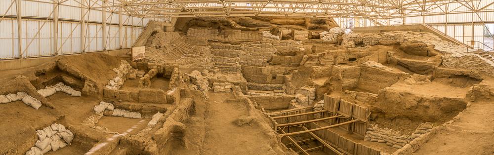 Prähistorische Ausgrabungen von Çatalhöyü