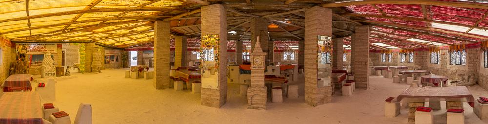Das erste Salzhotel auf dem Salar