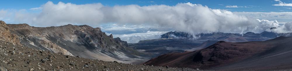 Aussicht auf der Kraterwanderung