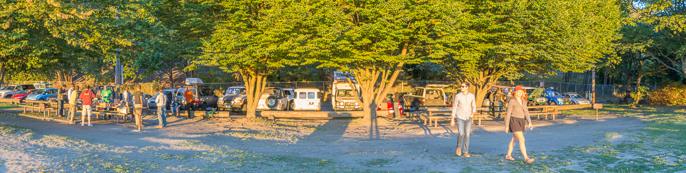Landcruiser Club Meeting am Beach von Seattle