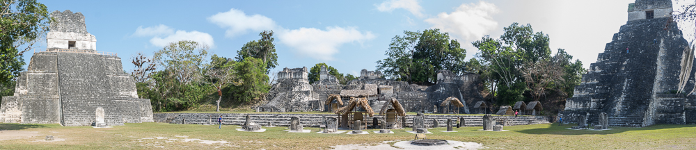 Plaza Mayor, Ruinen von Tikal