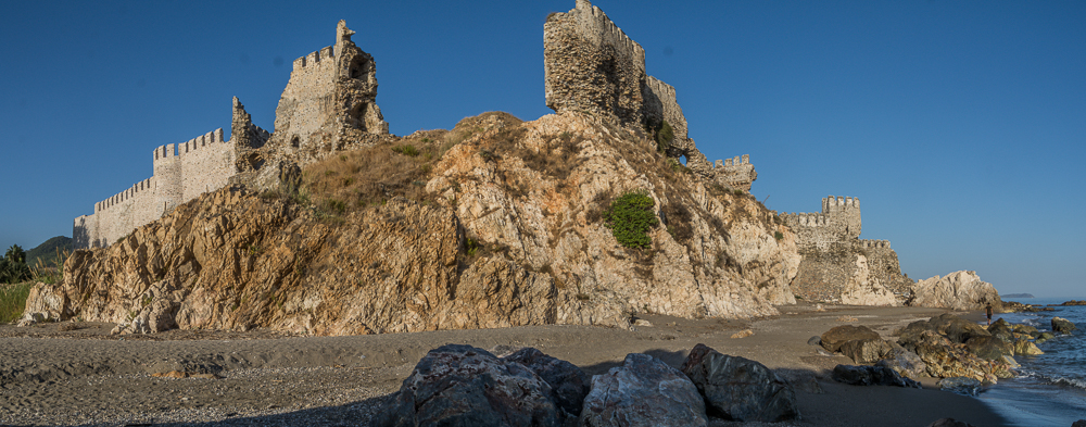 Schlossruine  Mamure
