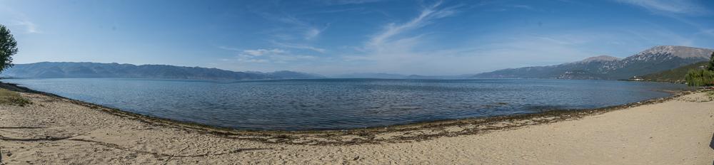 Am Ohrid See bei Tushemisht