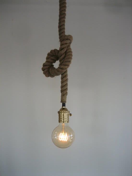 Hanglamp Met Touw.Hanglamp Touw Touwlamp Elzet T Hooverhuys Stoer Landelijk Wonen