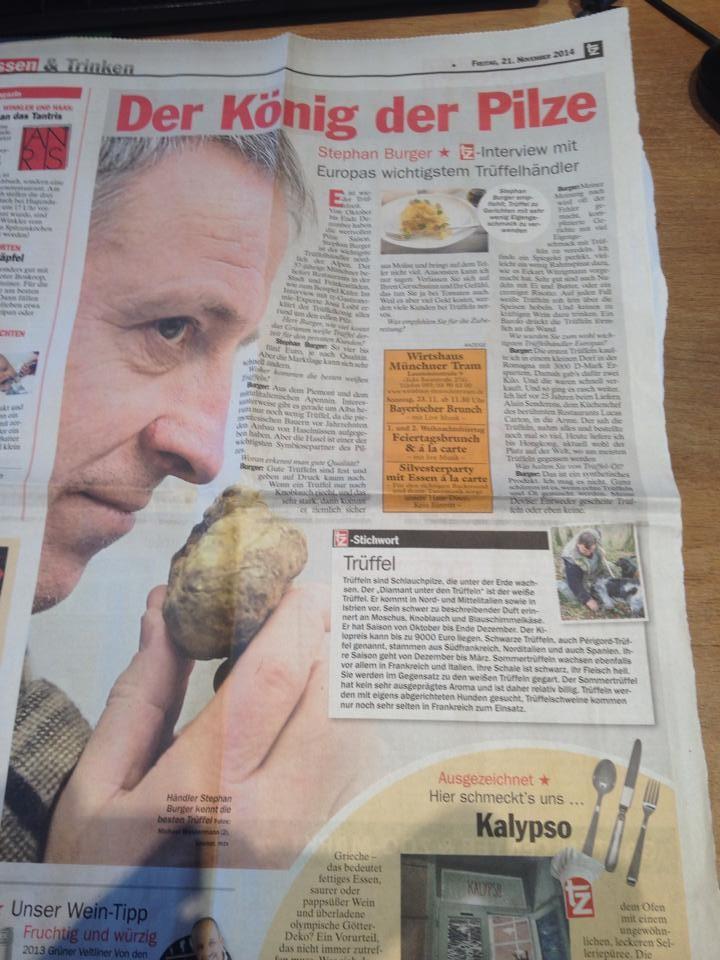 TZ - 21.11.2014 - Der König der Pilze