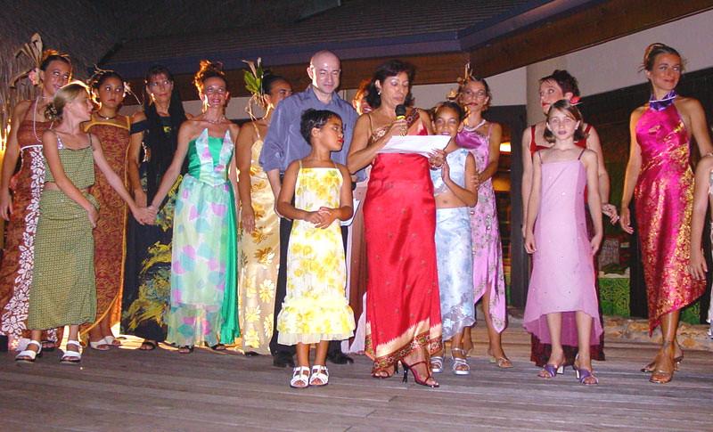 Défilé Hotel Sheraton - Tahiti 2001