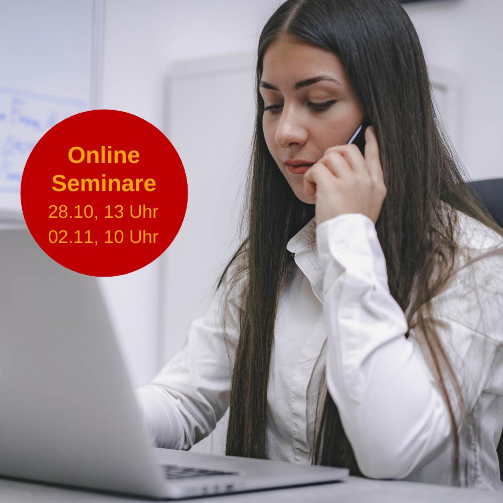 Erfolgreich ausbilden! Kostenlose Online-Seminare