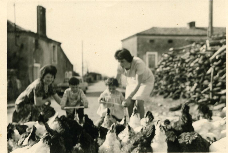 Thérèse, Patou, Nicole et Régine