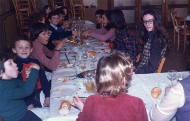 Christelle, de dos,Eric, Robin, Didier, Franck et Nicole à droite.