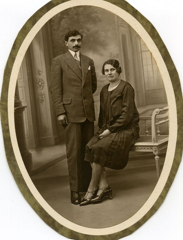 Maman et son frère Maurice