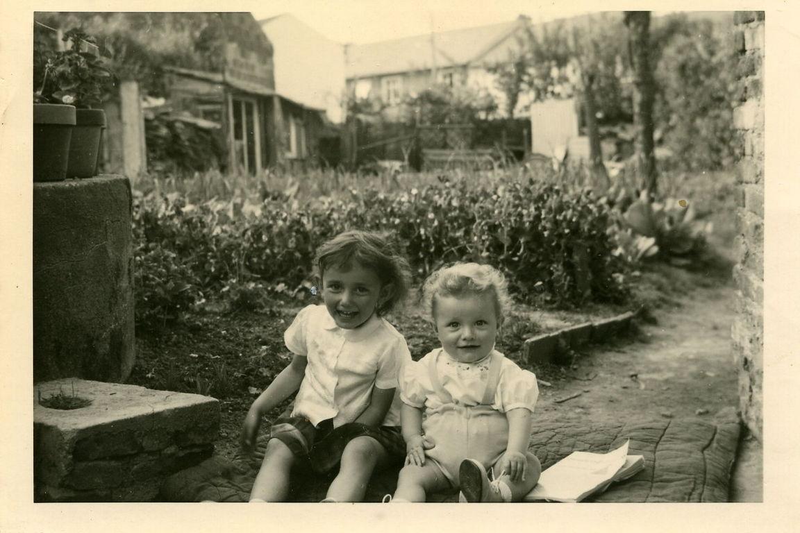 Nicole et Pascal au jardin