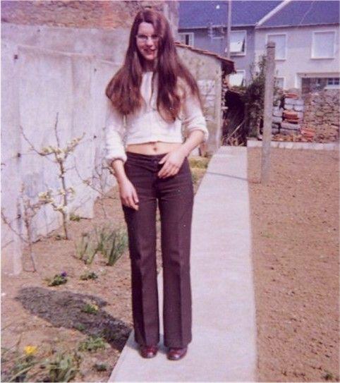 Denise au jardin