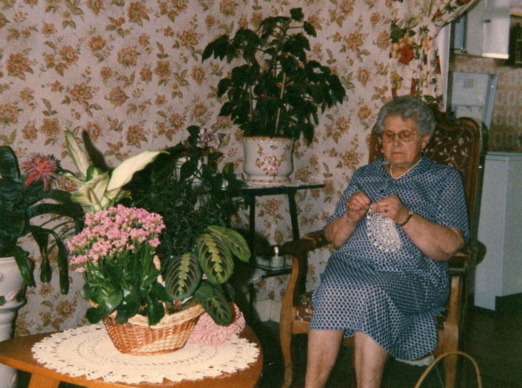 Maman, je tricote au salon