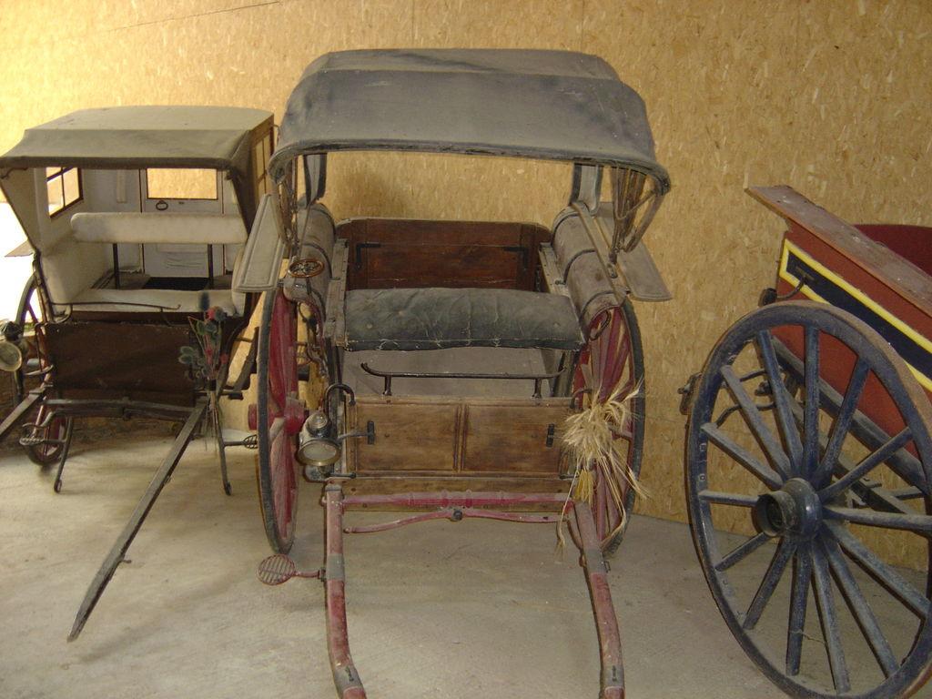 La voiture à cheval