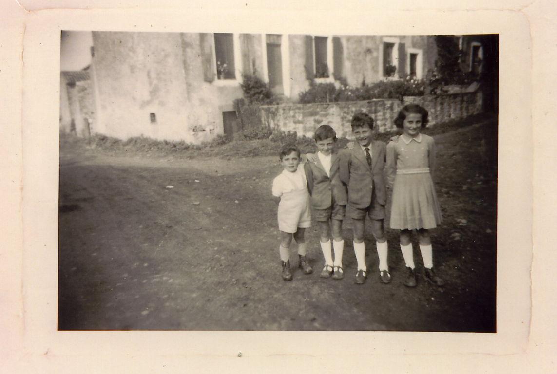 Michel, André, Robert et Régine