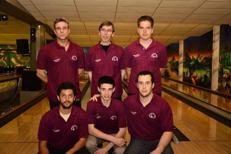 L'équipe masculine N°1 du TGB.