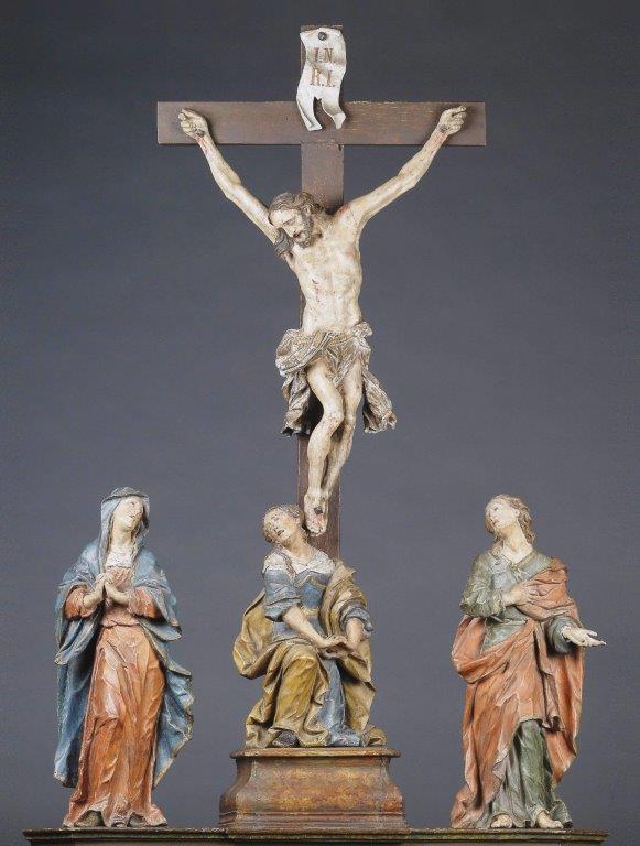 3- Kreuzigungsgruppe, Joh. Franz Schwanthaler