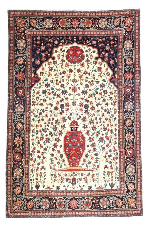 Feraghan Gebet,220 x 135 cm, 2. Drittel 19.