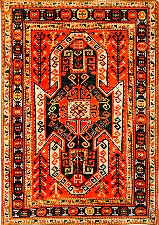 Schildkasak, letztes Viertel 19. Jhdt., 230 x 160 cm