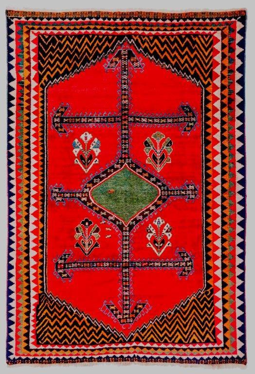 Gabeh antik, 19. Jhdt., 220 x 150 cm