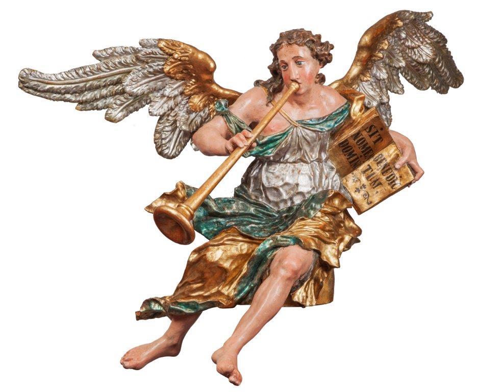 LEONHARD SATTLER, originale Fassung, Höhe105 cm, Flügelspannweite 160 cm
