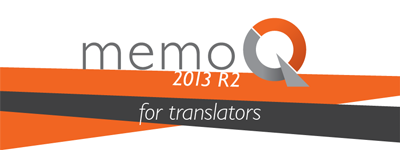MemoQ 2013 R2