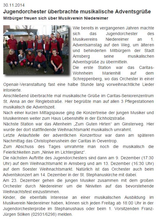 von der Website Niedereimer vom 30.11.2014