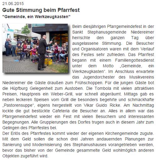 von der Website Niedereimer vom 21.06.2015