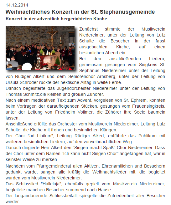 von der Website Niedereimer vom 14.12.2014