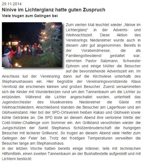 von der Website Niedereimer vom 29.11.2014