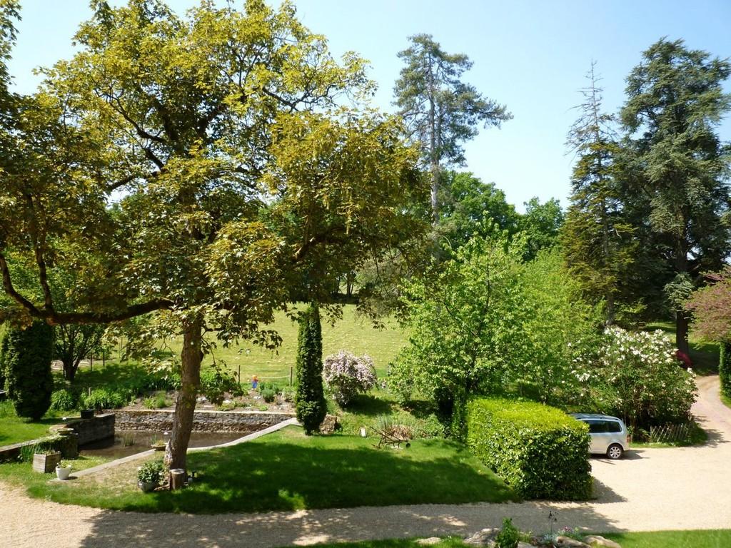 Aussicht in den Schlosspark