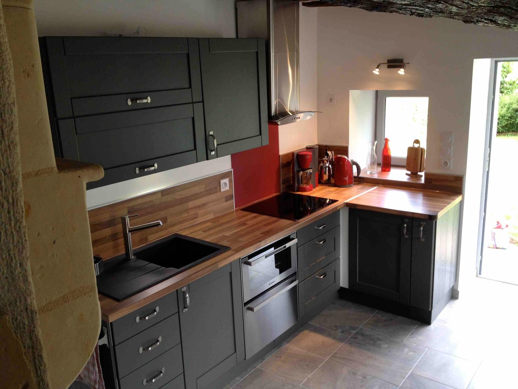 Küche mit Induktionsherd, Ofen, GS